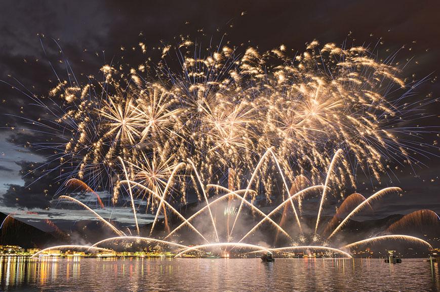 New year, Lugano