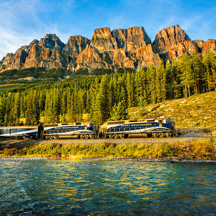 Rockies, Rail and an Alaskan Cruise