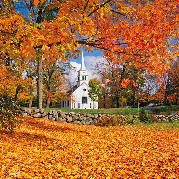 New England and Canada in The Fall