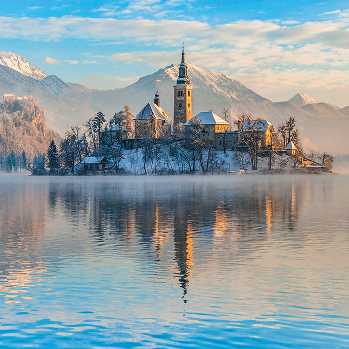 The Italian Dolomites and Lake Bled for Christmas and New Year